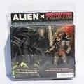 Neca Alien VS Predator juguetes figura del extranjero Predator PVC figura de acción de juguete