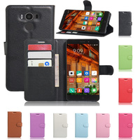 Elephone P9000 Case Luxury PU Leather Wallet Stand Flip Case Cover 5.5 inch Protective Phone Case