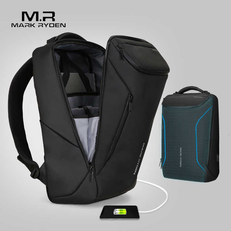 9dbbd10fd3a Mark Ryden 2019 New Anti-thief Fashion Men Backpack Multifunctional  Waterproof 15.6 inch Laptop Bag