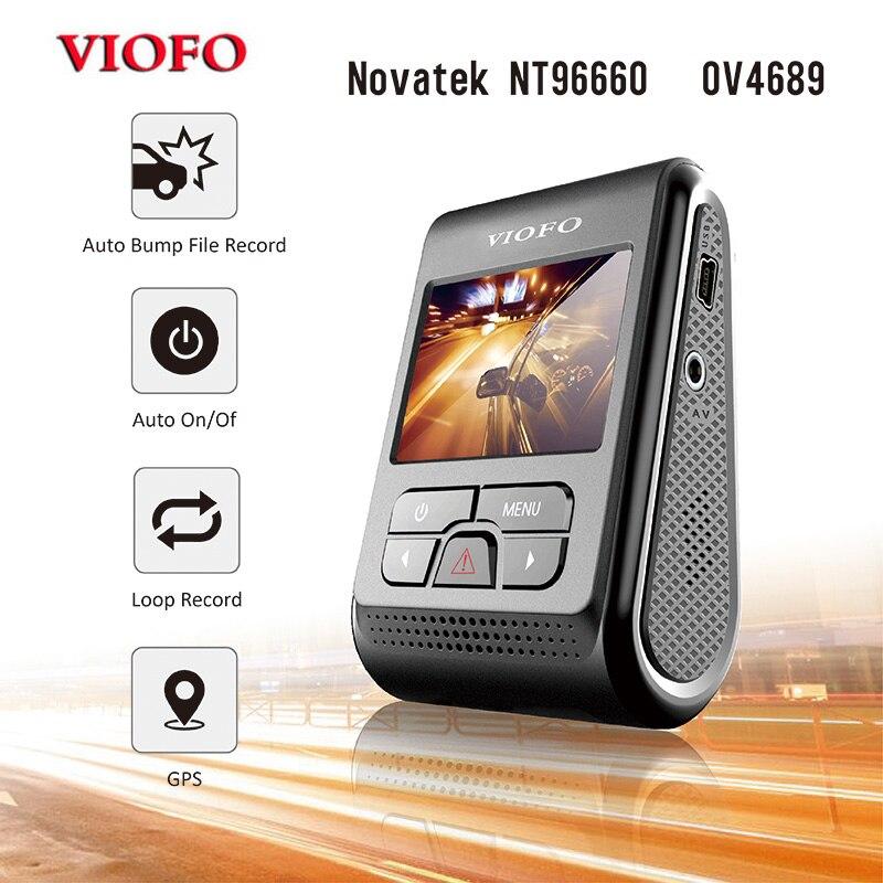 VIOFO DVR Dash-Camera A118 Capacitor Upgraded-Version 1440p Novatek 1080P LCD Car B40
