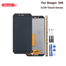 Alesser For Doogee S40 LCD Display and Touch Screen 5.5 Assembly Repair Parts With Tools And Adhesive For Doogee S40 Phone