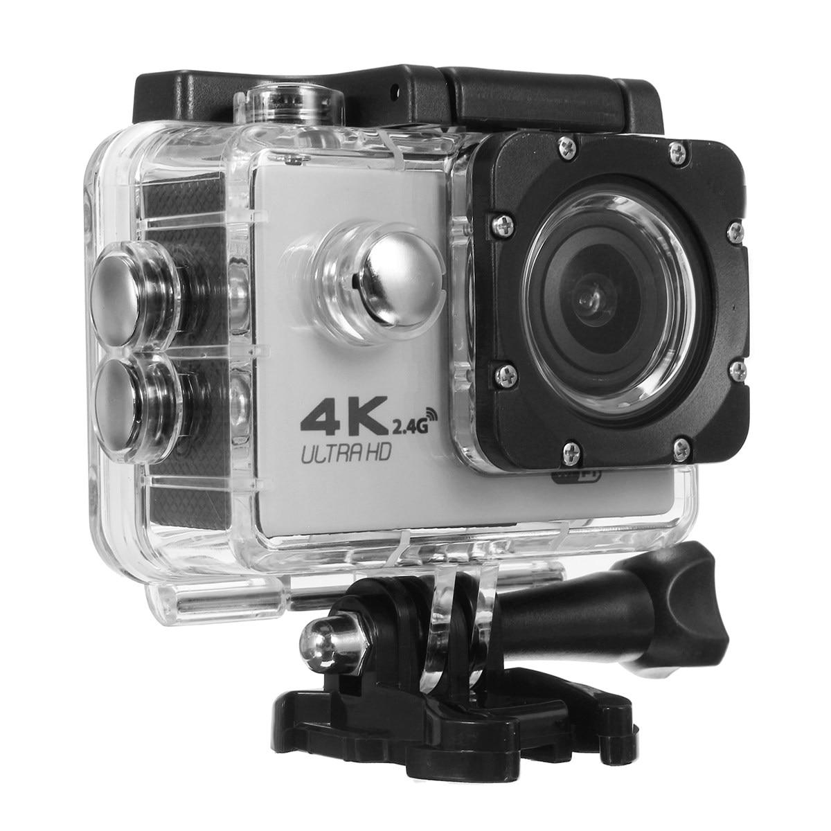 Multi Color waterproof Action Camera F60R Ultra HD 4K /30fps WiFi 2.0 170D go Helmet Cam ...