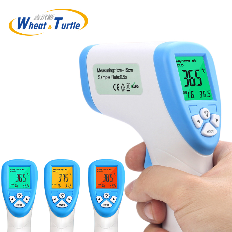 Diagnose-tool Digitale Thermometer Für Baby Erwachsene Berührungslose Infared Thermometer Körpertemperatur Messen 3-Color Hintergrundbeleuchtung