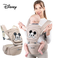 Disney Ergonomic Baby Carrier Infant Baby Hipseat Carrier Front Facing Ergonomic Kangaroo Baby Wrap Sling for Baby Travel 0 36M