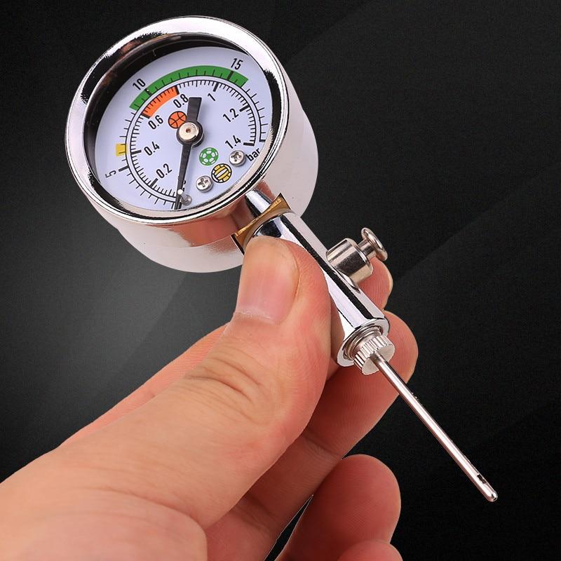 все цены на Ball games pressure gauge Football Basketball Volleyball Air gauge Barometer Referee pressure measuring instrument онлайн