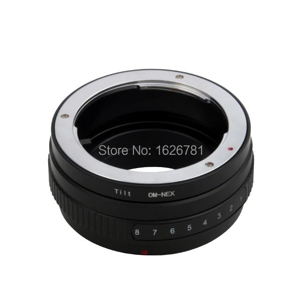 Tilt Lens Adapter Suit For Olympus-NEX to Sony E Mount NEX For NEX-C3 NEX-3 A5000 A3000 NEX-VG10 NEX-VG20
