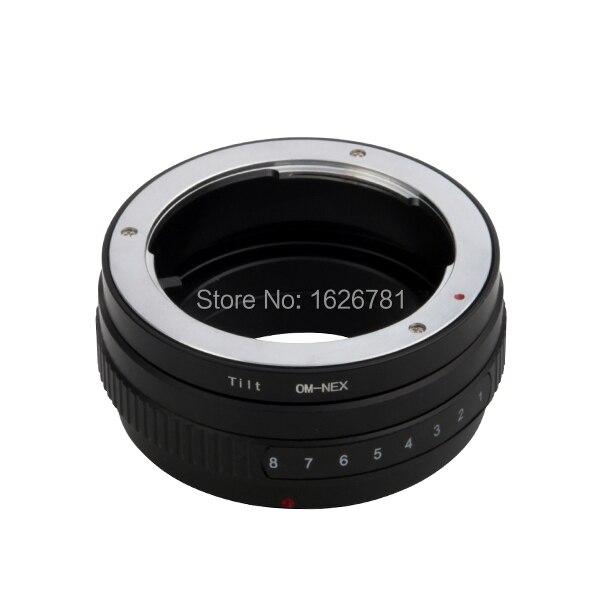 Tilt lente traje adaptador para Olympus-NEX a Sony E de montaje NEX para NEX-C3 NEX-3 A5000 A3000 NEX-VG10 NEX-VG20
