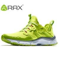 RAX 2018 мужские кроссовки амортизацию Спорт на открытом воздухе кроссовки дышащие кроссовки для мужчин Trail Running кроссовки мужские