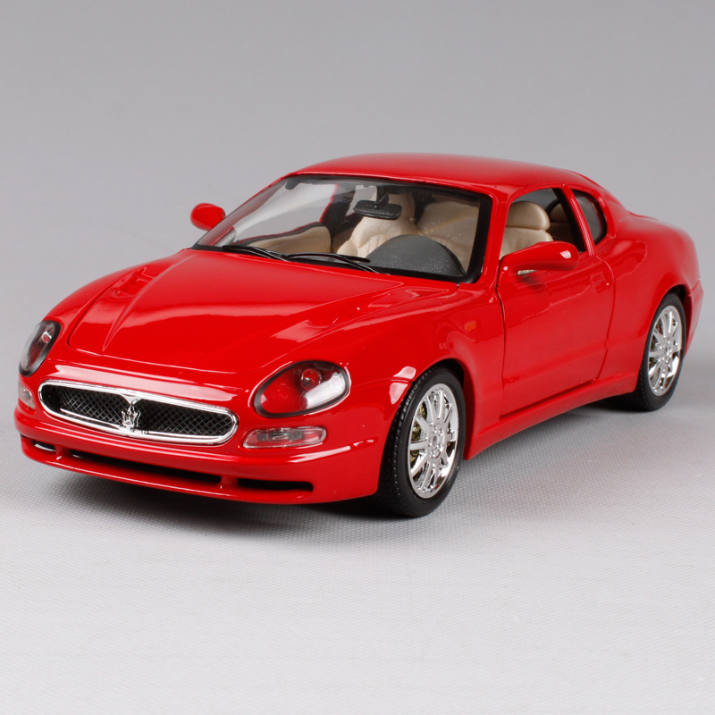 цена на Maisto Bburago 1:18 Maserati 3200 GT Coupe Sports Car Diecast Model Car Toy New In Box Free Shipping 12031