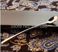 Long Ice Tea Spoon 19 3 2 4cm Free Shipping 6pcs Lot Long Stainless Steel Ice