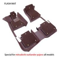 Специальные автомобильные коврики для mitsubishi outlander xl pajero sport lancer аксессуары автомобильные коврики