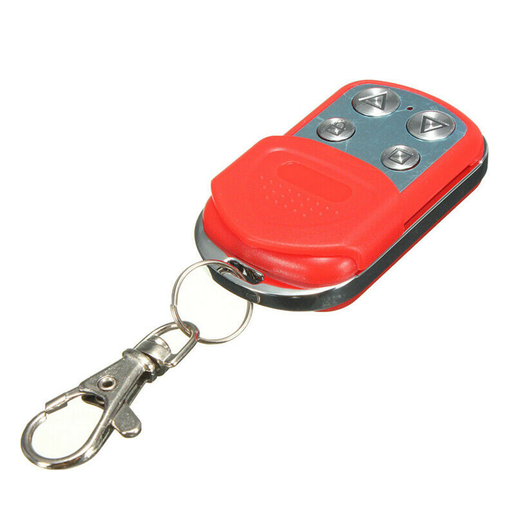 Cars Remote Control Key Button Wireless Fob Battery Powered Lightweight Plastic Electric Garage Door Slide Cover Alarm Systems
