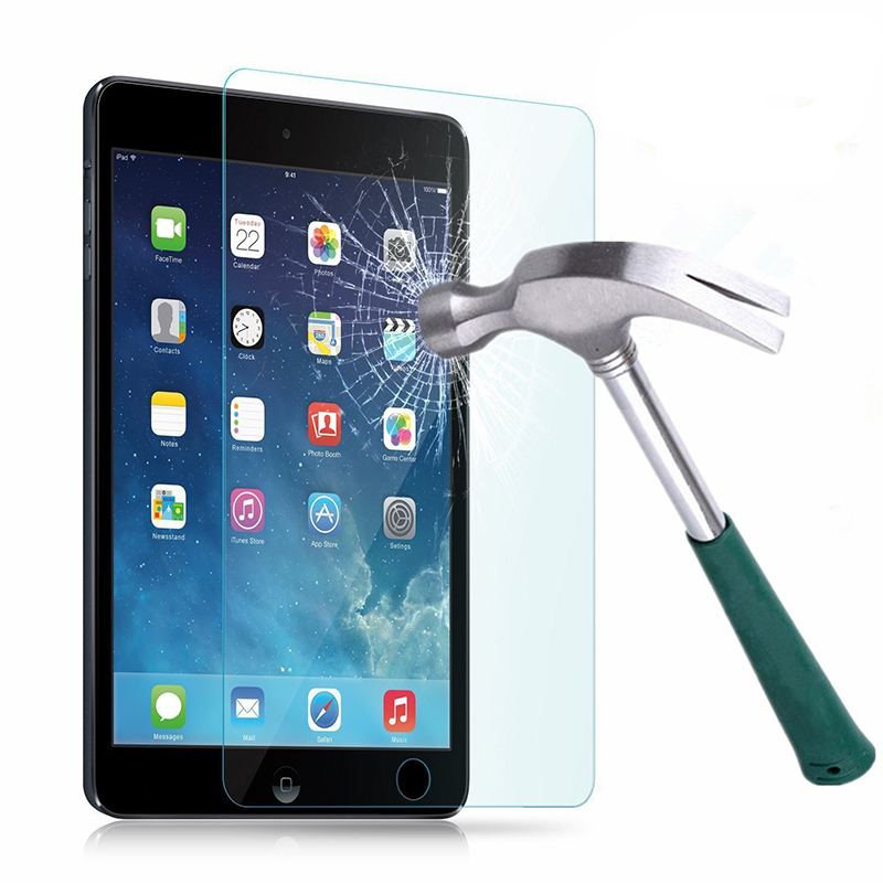 Pansophy 9h premium clear explosion proof front screen protector for ipad mini tempered glass for ipad