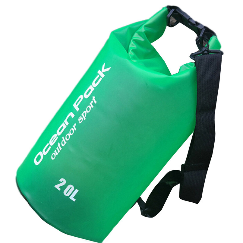 20L PVC Waterproof Dry Bag Outdoor Sport Swimming Rafting Kayaking Sailing Bag Outdoor waterproof bag #2f19 (4)