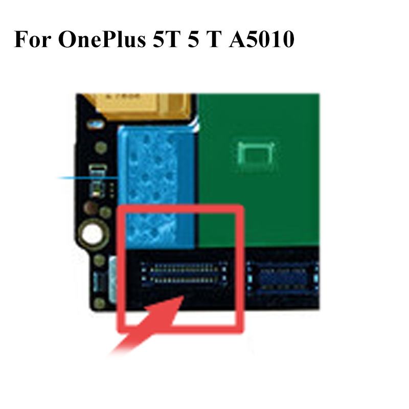 2 stücke Für OnePlus5T One plus 5 <font><b>t</b></font> Dock Connector Micro USB Lade Port FPC stecker Für OnePlus 5 <font><b>t</b></font> 5 <font><b>t</b></font> A5010 image