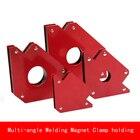 25LB 50LB 75LB Super Powerful Arrow welding Magnet Welding Holder Clamp 45 90 135 Angles magnet Welding