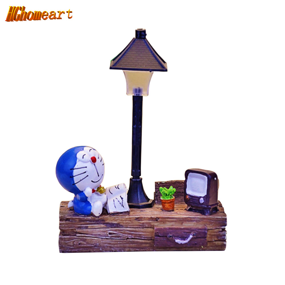 HGHomeart Battery Powered Baby Night Light LED Cartoon Romantic Lights Children Bedrooms Bedside Lamp Home Decor Lighting