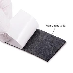 Image 2 - EHDIS – tissu en feutre pour raclette de 10cm, Fiber de carbone 100, grattoir, outils demballage de teinte de fenêtre, 20/housse de voiture en vinyle pièces