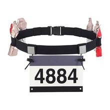 Unisex Triathlon Number Belt Marathon Race Number Belt Support Running Reflective Belt for Outdoor Sports Night Run #2l04 number 11
