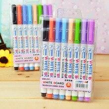8 or 12 colors white board maker pen white board whiteboard marker liquid chalk erasable
