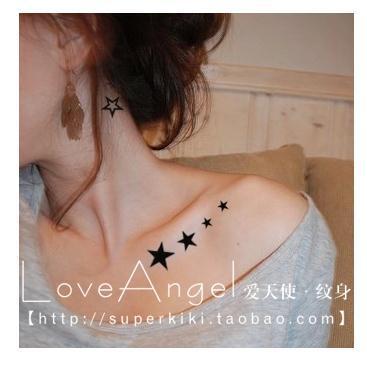 Tattoos For Girls On Shoulder Stars