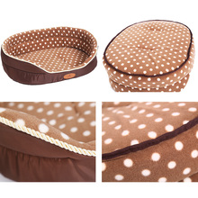 Reversible Soft Fleece Dog Bed Large Dogs Cat Bed