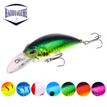 Купить с кэшбэком Crankbait Fishing Lure Minnow 9cm 15g Wobblers Floating Artificial Japan Hard Bait Swimbait Trout Bass Carp Fishing Tackle Pesca