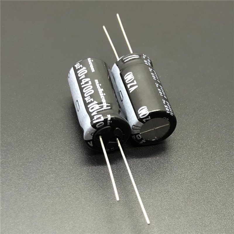 10pcs 25V 4700UF 25V Nichicon VY 16X25mm Wide Temperature Range Capacitor