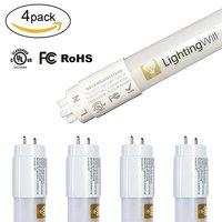 UL Listed T8 LED Tube Light 18W 1800LM Daylight White Nature White Warm White with Milky White Cover 120cm LED Tube Lights