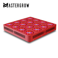 GoldenRing16 3200W Double Chips LED Grow Light Full Spectrum With Integrated Power Lens For Flower Plants And Vegetative