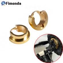 2pcs 82g/pcs TRX4 Brass Counterweight Balance Weight Portal Drive Housing for 1/10 RC Crawler Car Traxxas TRX 4 Parts