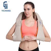 HOT SALE U Shape Electrical Shiatsu Back Neck Shoulder Massager EU Plug And Flat Plug Infrared