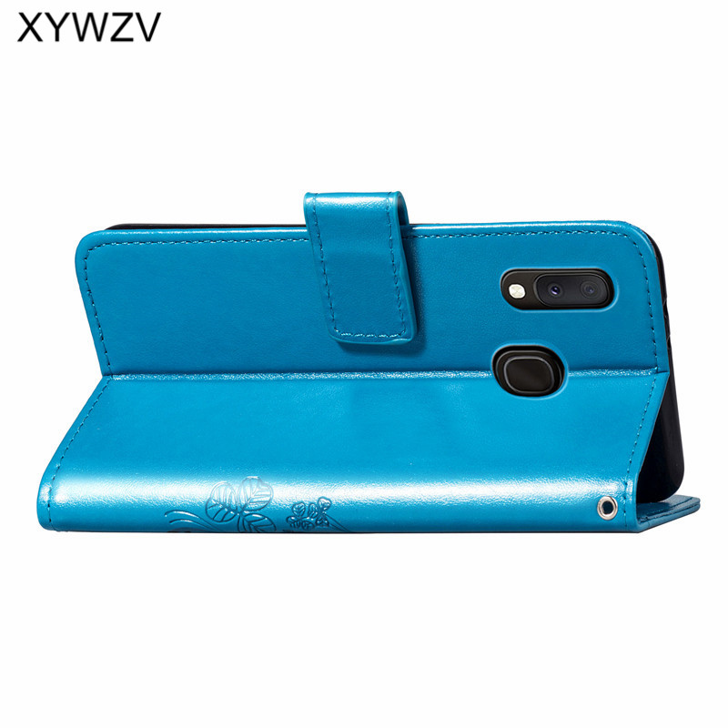 Image 4 - For Samsung Galaxy A20E Case Soft Silicone Filp Wallet Shockproof Phone Bag Case Card Holder Fundas Back Cover For Samsung A20e-in Flip Cases from Cellphones & Telecommunications