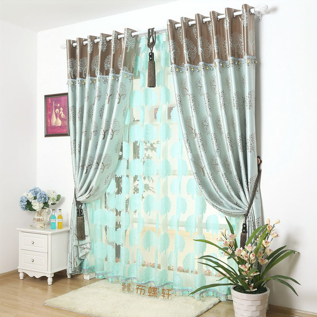 Blackout Blinds Tree Window D Insulated Thermal Roman Shades Curtains Thick Treatments Double Suede Panel Parion