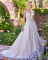 Dreagel Romantic Sweetheart A-line Wedding Dresses 2017 Glamorous Lace Appliques Vestido Beading Belt Robe de Mariage Plus Size