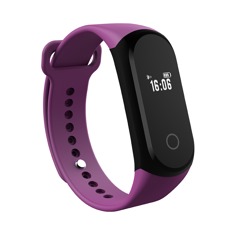 A16 Bluetooth Smartband Heart Rate Sleep Monitor Pedometer bracelet Smart wristBand Waterproof IP67 Compatible for IOS