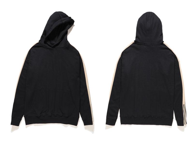 Zipper Sleeve Hoodies 5