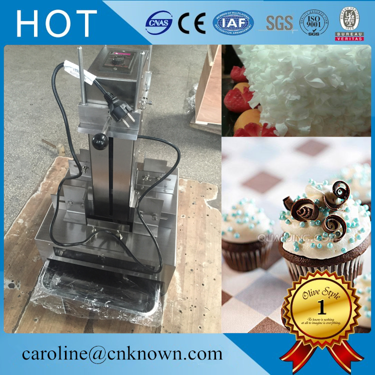 Commercial Chocolate Block Machine Chocolate Shaver Machinery