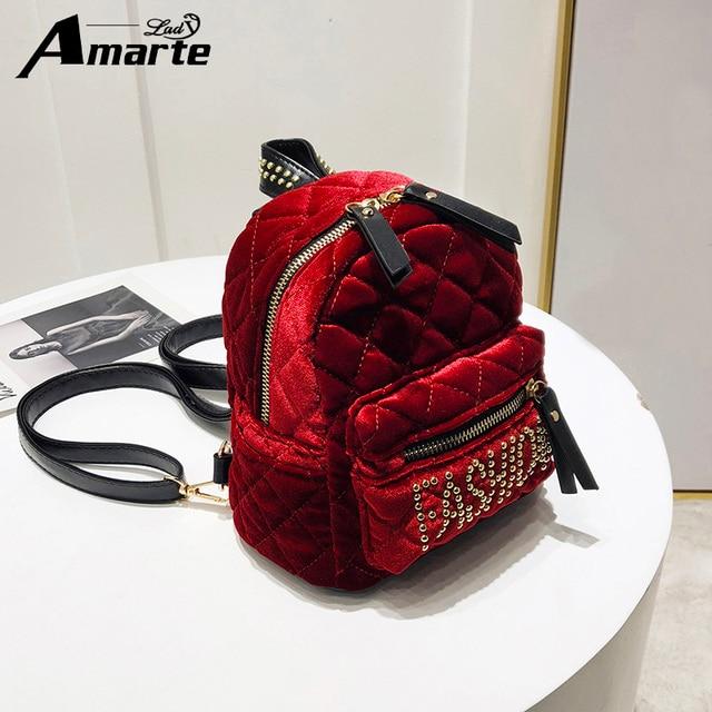 0b610269c7 Amarte Women Backpacks 2018 New Fashion Women Fashion Casual Rucksack High  Quality School Bags for Teenager Mochila Feminina