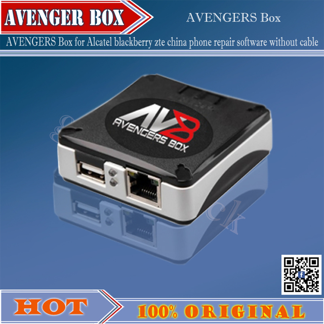 2016 version 100% Original Latest AVENGER Box for Alcatel blackberry zte china phone repair software without cable