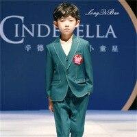 Детский костюм из трех предметов для мальчиков корейский вариант костюма для больших мальчиков маленький комплект жилет платье для мальчи