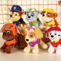 6Pcs/Lot Canine Patrol Dog Toys Russian Anime Doll Action Figures Car Patrol Puppy Toy Patrulla Canina Juguetes Gift for Child