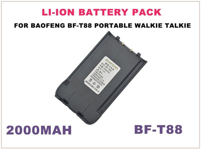 BAOFENG BF-T88 2000mAh Li-ion Battery Pack For Baofeng BF-T88 Portable Two-way Radio