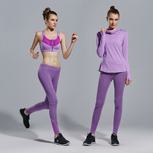 3 piece Yoga Sets Women's tracksuit yoga pants and T-shirt sportswear sport costumes for women Trousers for women leggins sport