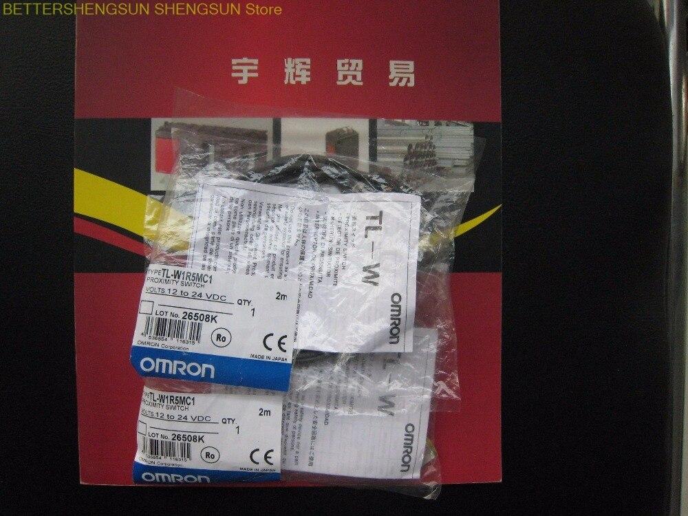 OMRON proximity switch sensor new original authentic 2M TL-W1R5MC1