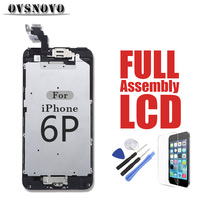 Full LCD Replacement Assembly For IPhone 6Plus Touch Screen Digitizer Parts Panel No Dead Pixel Front