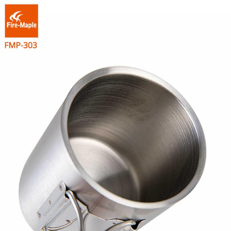 Fire-Maple 2020 R/échaud ultral/éger Compact ultral/éger Coupe-Vent Coupe-Vent avec Support et Support dallumage pi/ézo-/électrique