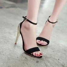 2015 neue sommer sexy frau sandalen offene spitze dünne high heels hohe qualität damen schuhe partei und hochzeit tanzen pumpt dame schuhe