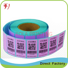 Customized Barcode label,serial numbers sticker label,QR code sticker label