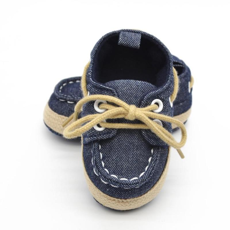 Spring autumn baby shoes canvas shoes for newborn infant Soft Bottom Non-slip Footwear Crib Shoes Toddler First Walkers Boots D1